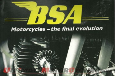 BSA Motorcycles - the Final Evolution | Rider's Library