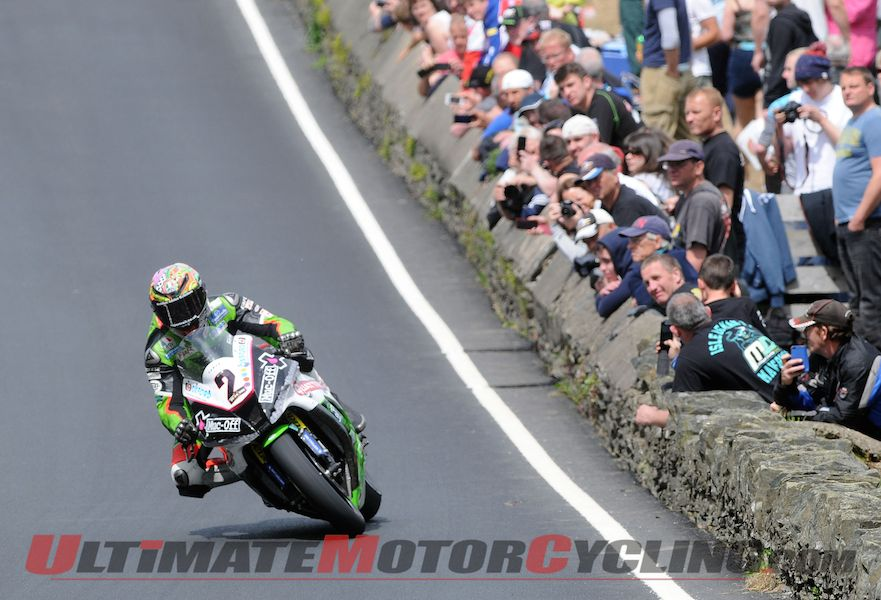 James Hillier at IOM TT, 2014