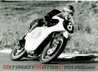 Ex-Mike Hailwood Mondial 250 Bialbero Grand Prix Racer in action