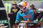Red Bull KTM's Dean Wilson at the gate