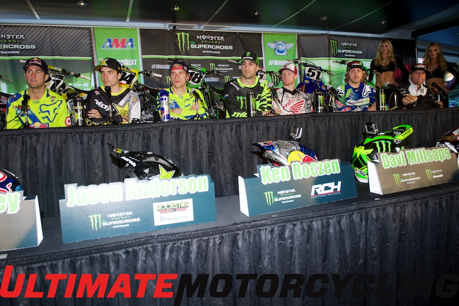 2015 Supercross Press Conference