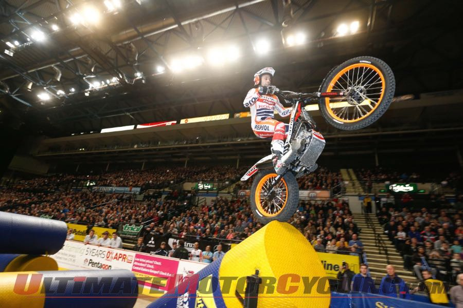 Honda's Toni Bou at X-Trial Season Opener