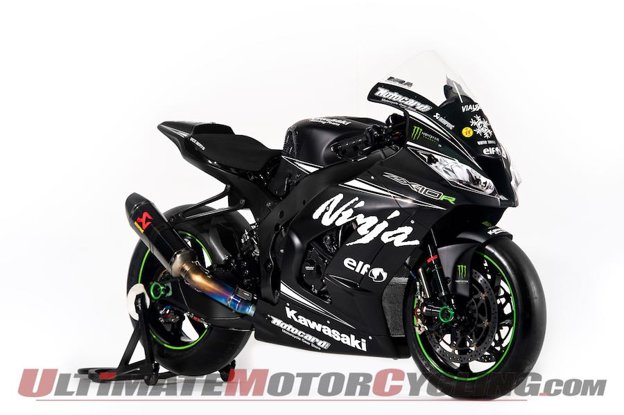2015 World SBK: Monster Energy Sponsors Kawasaki Racing Team