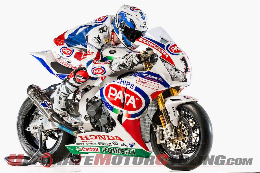 Pata Honda World Superbike Launch | Video from Italy
