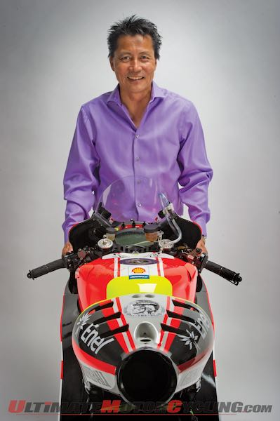 Kaming Ko, the man who bought Valentino Rossi's Ducati GP11