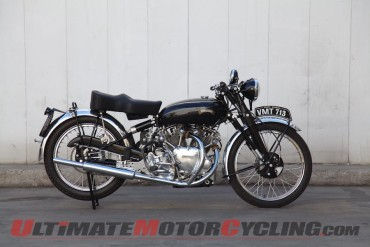 "1950 Vincent Series C ""White"" Shadow"