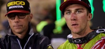 Honda's Eli Tomac | Anaheim 2 Supercross Post-Race Interview