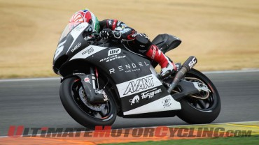 Johann Zarco at Valencia Moto2 Test