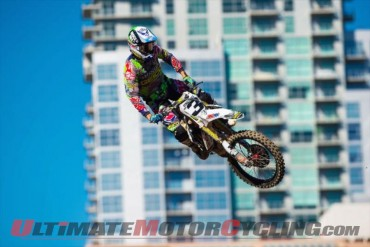 GEICO Honda's Tomac Ready to Hammer Down at Arlington SX