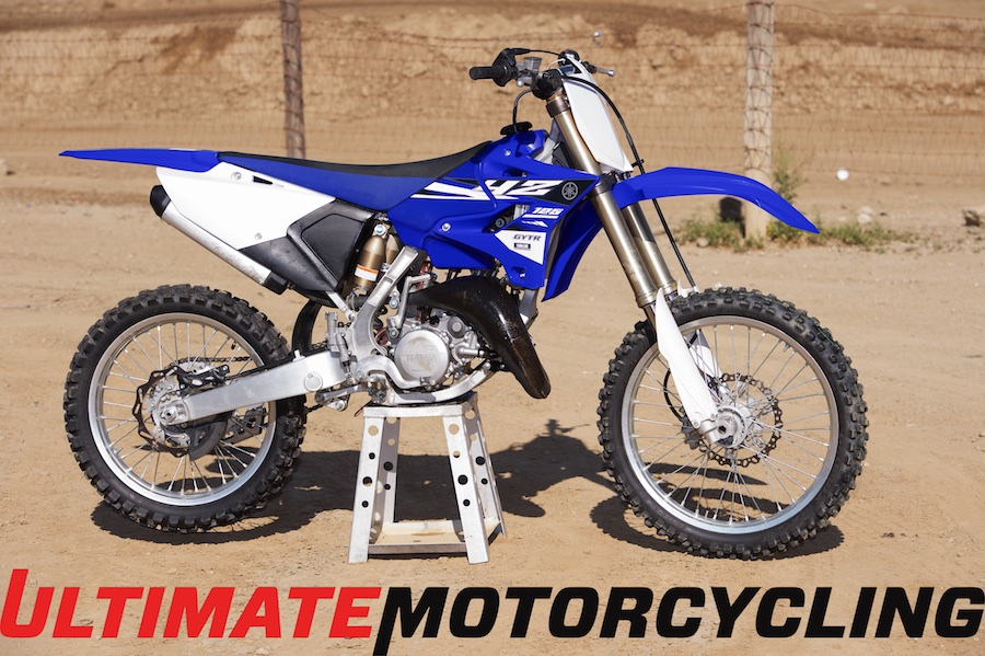 2017 Yamaha Yz125 Right Side