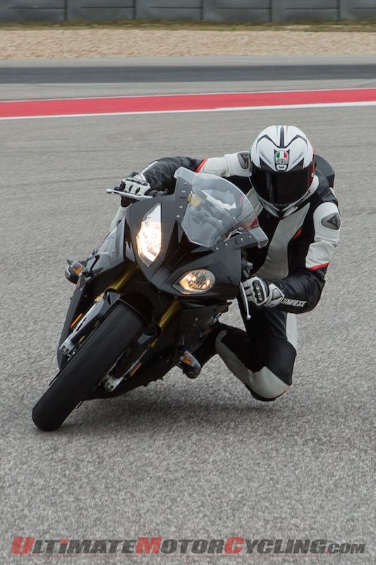 2015 BMW S1000RR Review at cota