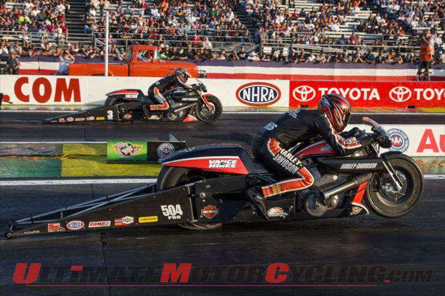 Harley-Davidson Screamin' Eagle Drag Team Set for Gainesville