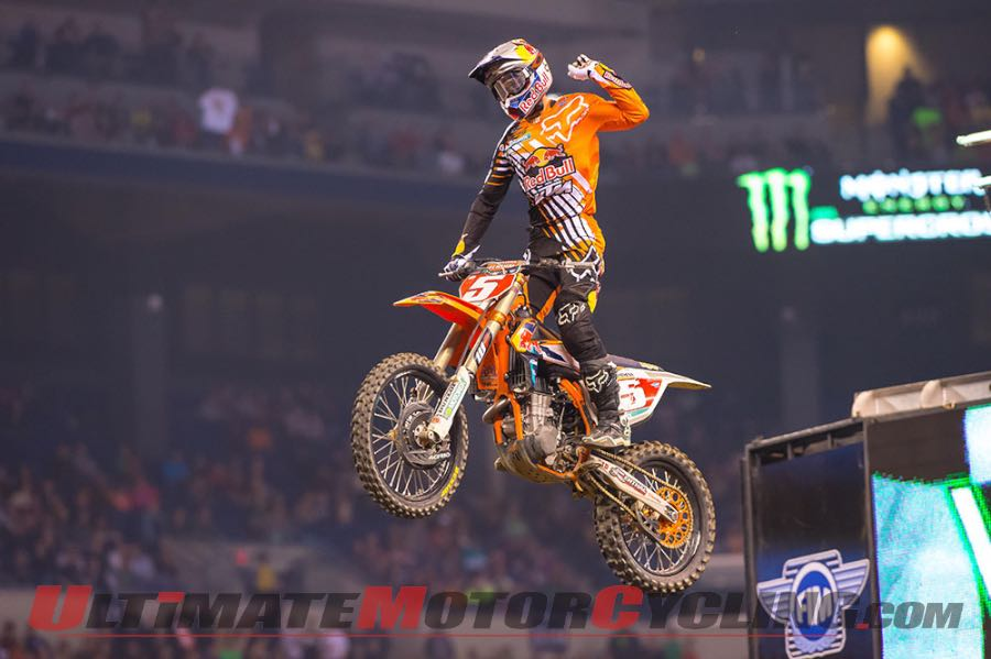 2015 Indy Supercross Commentary | KTM's Ryan Dungey
