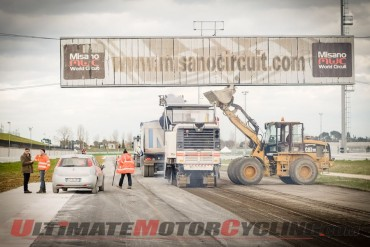 Misano World Circuit Gets Facelift Ahead of 2015 MotoGP/WSBK