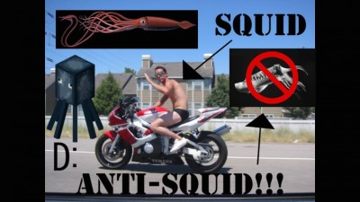 Motorcycle Squid on the Rise - Join the Anti-Squid Movement