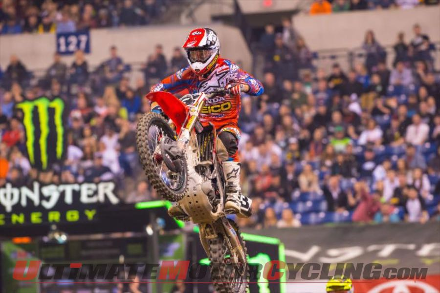 Training Keeps Honda's Eli Tomac Focused for Race Day
