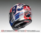 Indy Marquez TC-2 Shoei rear view