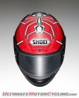 Shoei Marquez3 TC-1 front view