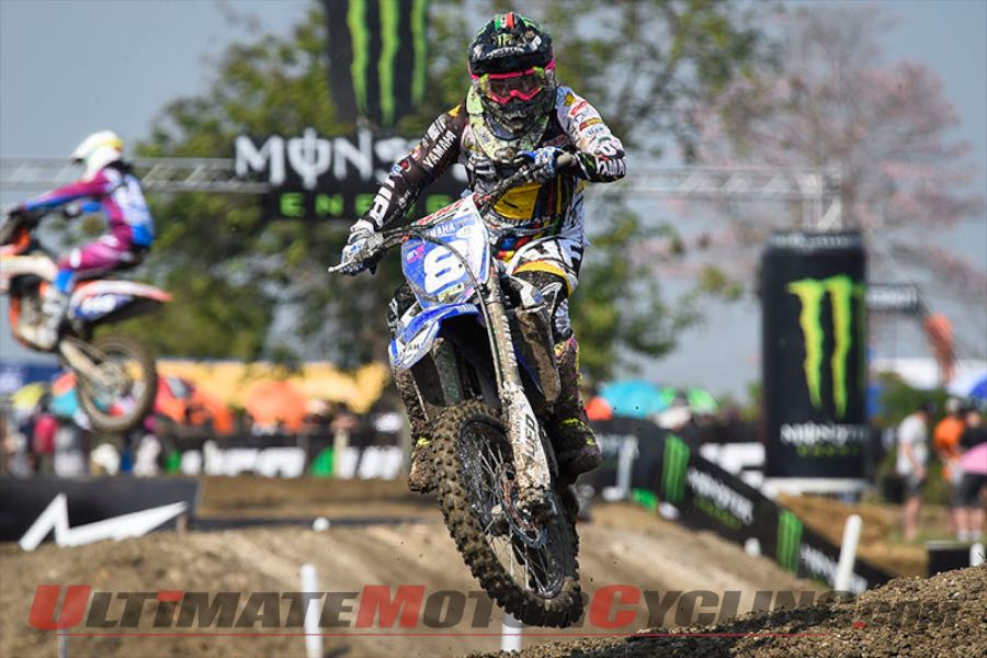 2015 Thailand WMX Results | Fontanesi Earns Red Plate