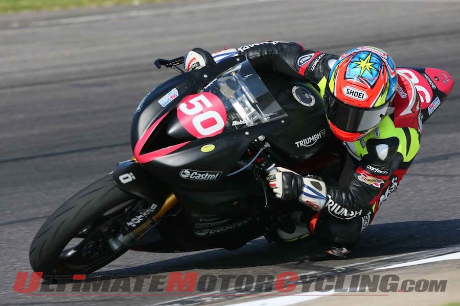 Triumph Motorcycles 2015 Racing Plans Revealed
