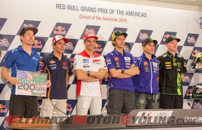 Marquez & Rossi Highlight Austin MotoGP Press Conference