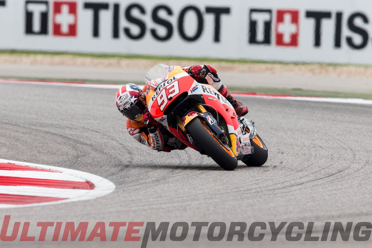 2015 Austin MotoGP Results from Circuit of the Americas