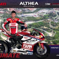 Fabrizio to Substitute for Injured Terol on Althea Ducati SBK