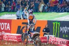 2015 Houston Supercross Results | KTM's Dungey Clinches Title celebration