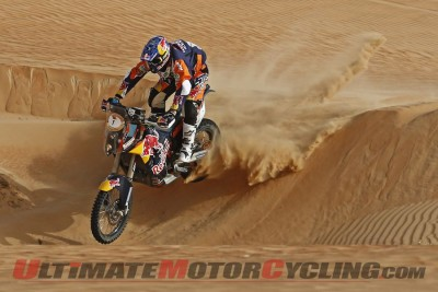 2015 Abu Dhabi Desert Challenge Results | KTM's Coma Again Sand Dive