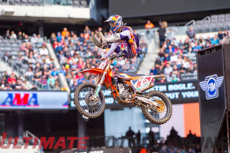2015 New Jersey Supercross | KTM's Marvin Earns 250SX Title