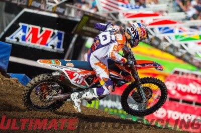 2015 New Jersey Supercross | KTM's Marvin Earns 250SX Title KTM