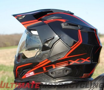 NEXX XD1 Helmet Review: A Convertible for Your Head side view