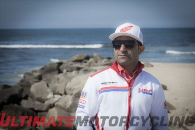 Paulo Goncalves Interview : Team HRC Honda CRF450 Rally