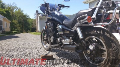 1987 Kawasaki ZL1000 Eliminator, Chester Beaver of NJ | Reader's Rides left
