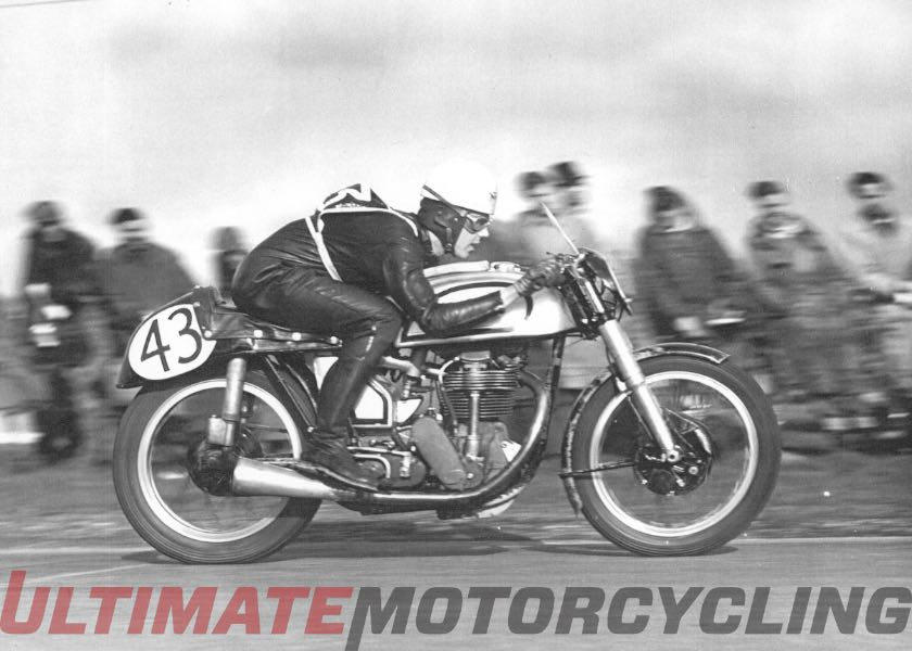 1950's Motorcycle Racing Star Geoff Duke Passes at 92