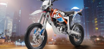 KTM Freeride E-SM Launch from Barcelona | Video