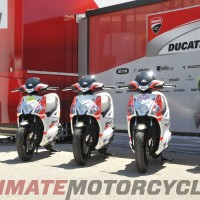 KYMCO - Official Scooter of Ducati MotoGP & SBK Teams