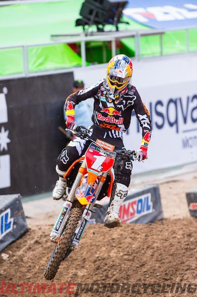 KTM's Musquin Wins 2015 250SX East/West Shootout SX-F250