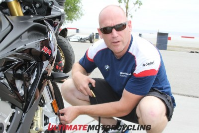 Ultimate MotorCycling Track Invitational - A New Kind of Track Day Nate Kerns BMW