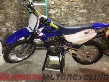 2003 Yamaha TTR125L, Anthony Rosati of PA | Reader's Rides