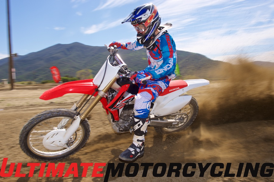 2015 Honda CRF450R Review | Small but Fine Refinements Roost