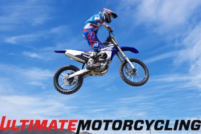 2015 Yamaha YZ450F Review Jump