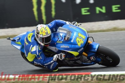 Suzuki's Espargaro Earns Record Pole at Catalunya MotoGP Qualifying