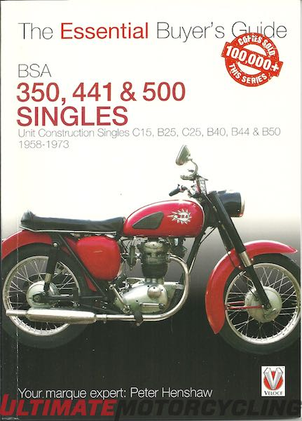 Essential Buyer's Guide BSA 350, 441 & 500 Singles | Rider's Library
