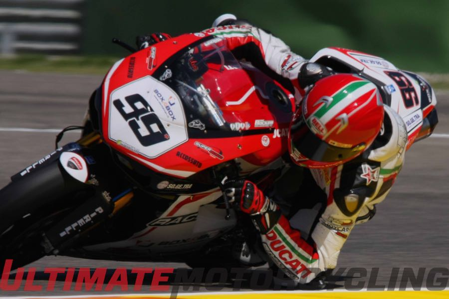 Lucca Scassa SBK Return - Ducati Wildcard Entry at Misano