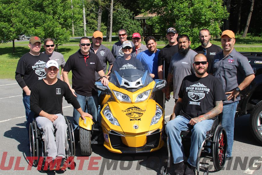 BRP to Provide Can-Am Spyders for 2015 Road Warrior Ride
