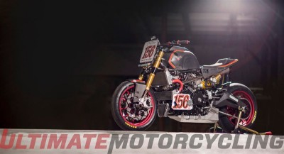Victory Project 156 TT Bike by Roland Sands | Exposed engine