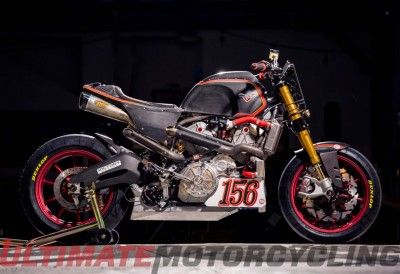 Victory Project 156 TT Bike by Roland Sands | Exposed motor