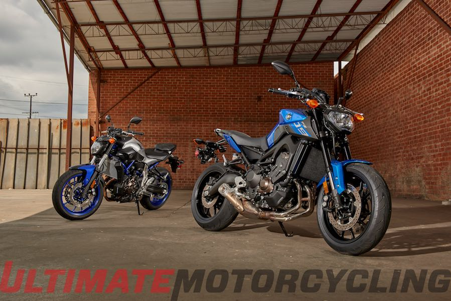 2016 Yamaha FZ-07 & FZ-09 Arrive in Late Summer | Photos