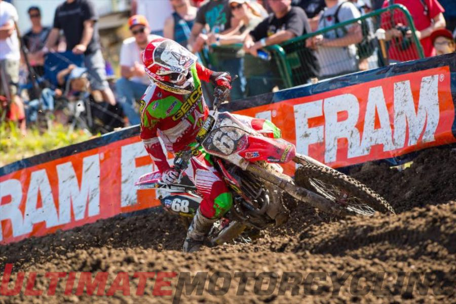 Christian Craig Brings Enthusiasm to GEICO Honda 250 MX
